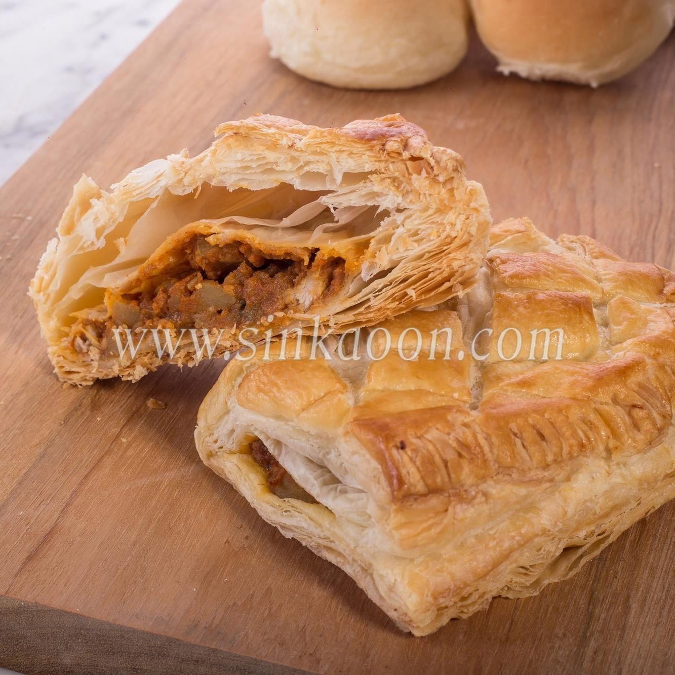 Curry Chicken Puff